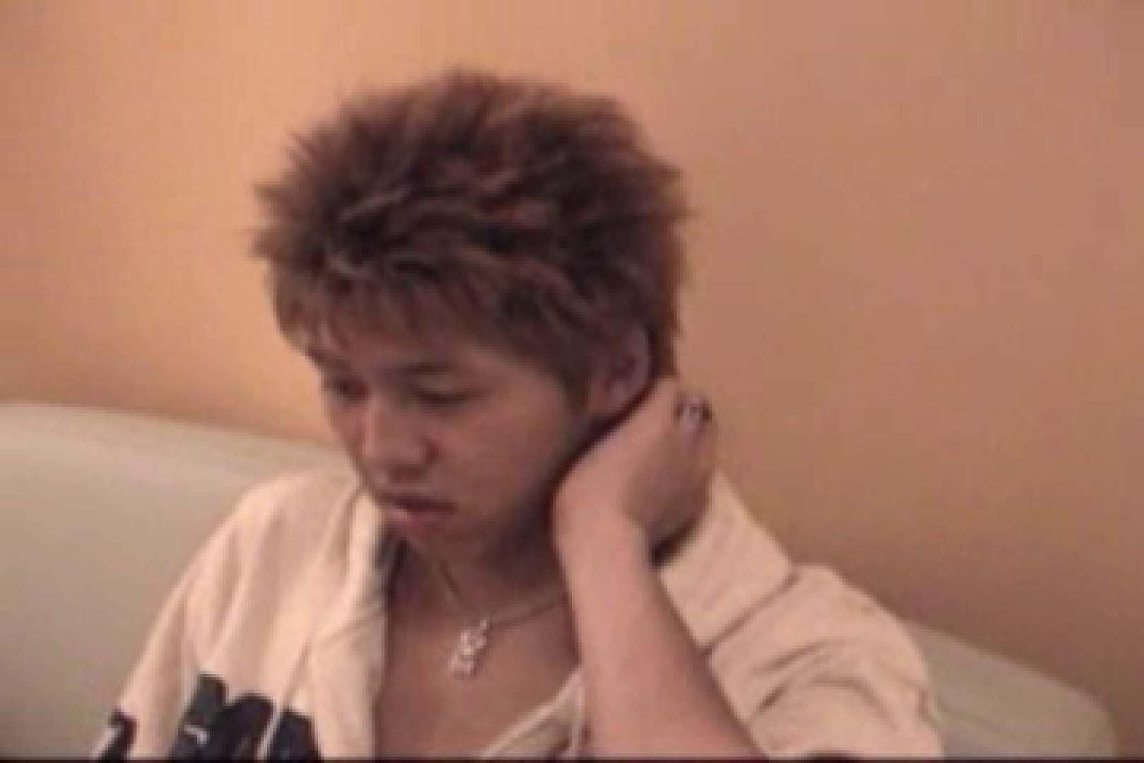 【流出】ジャニ系イケメン!!フライング&アナルが痛くて出来ません!! 茶髪 ゲイ無修正ビデオ画像 83枚 40
