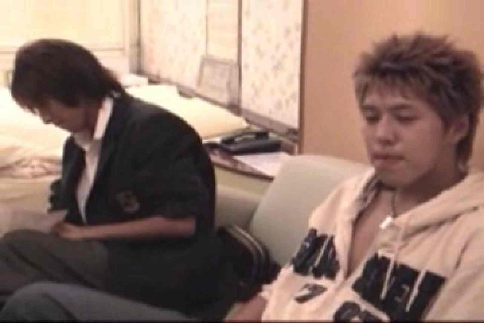 【流出】ジャニ系イケメン!!フライング&アナルが痛くて出来ません!! ディープキス 男同士動画 83枚 70