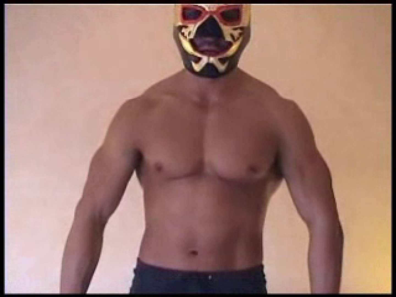 レスラーマスクマンのオナニーショー マッチョ特集 亀頭もろ画像 76枚 46