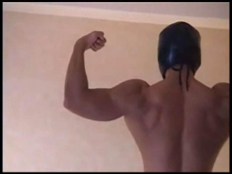 レスラーマスクマンのオナニーショー マッチョ特集 亀頭もろ画像 76枚 56