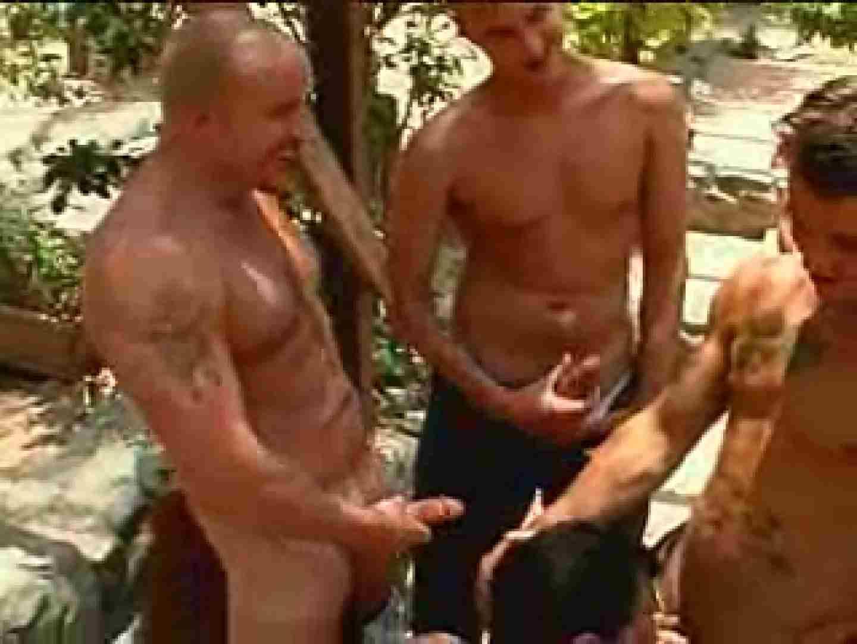 外人さの野外超乱交パーティー ゲイのプレイ ゲイアダルト画像 93枚 67