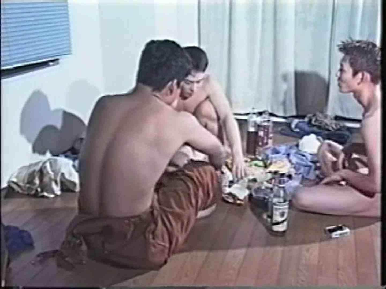 俺たち全裸で宅飲み! !何やってんネン 裸の男たち ゲイAV画像 88枚 50