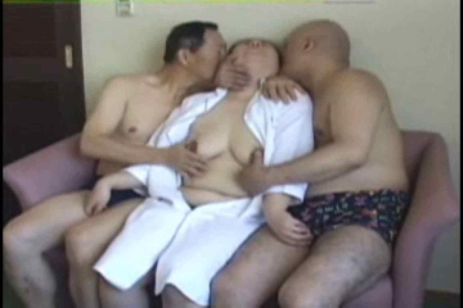 熟男女の3P 手淫 ゲイエロビデオ画像 94枚 3