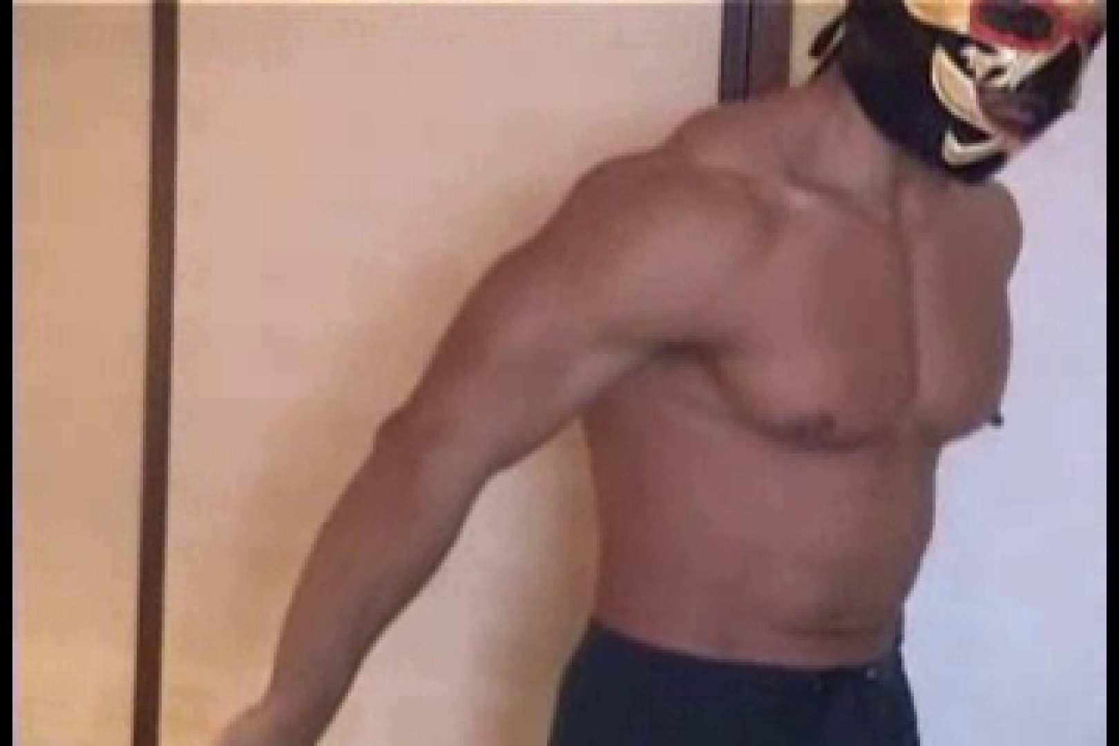性器の味方ムキムキ覆面マッチョマン 手淫 ゲイ無修正画像 105枚 3